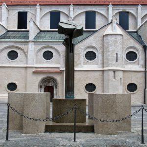 Der Albrecht-Altdorfer- Brunnen